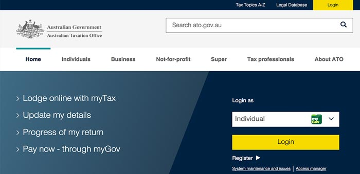 australian-taxation-office-website